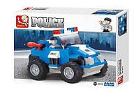 """Конструктор SLUBAN """"Полицейский автомобиль - Полицейский спецназ"""" 121 деталь арт. M38-B0183, фото 1"""