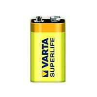 Батарейки VARTA SuperLife 6F22/ крона  FOL 1 ZINK-CARBON