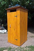 Душ деревянный летний из имитации бруса закрытого типа (в разобранном виде), фото 1