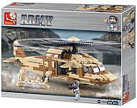 """Конструктор Sluban """"Военный вертолет"""" M38-B0509 , 439 дет, фото 1"""
