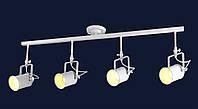 Потолочный трековый светильник LOFT L61SD04-4 WH