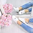 """Кроссовки, кеды, мокасины женские белые """"Illumination"""", НАТУРАЛЬНАЯ КОЖА, спортивная обувь, фото 6"""