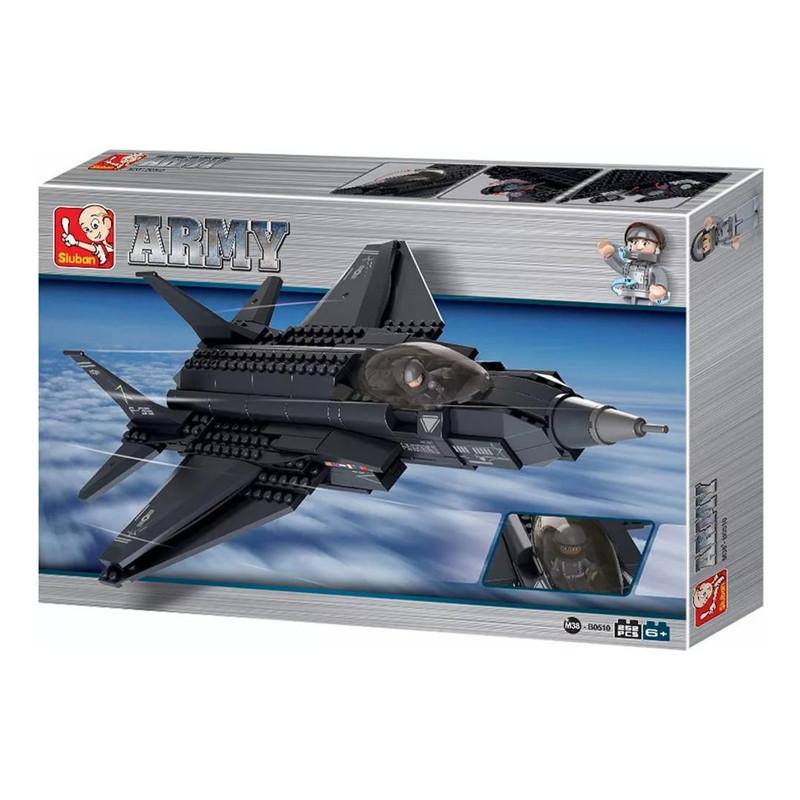 """Конструктор Sluban """"Военный самолет"""" M38-B0510, 252 дет"""