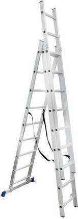 Лестница универсальная Werk LZ3209B 3х9, фото 2