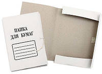 Папка для бумаг на завязках (картон)