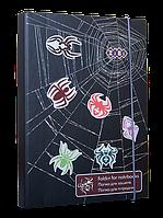 Папка для тетрадей SPIDER, картонная, на резинке B5+ (175х240х25мм)