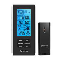 Digoo DG-TH6699 Беспроводные USB Часы с датчиком погодной станции на открытом воздухе как Барометр и Термометр