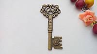 Подвеска металлическая ключ