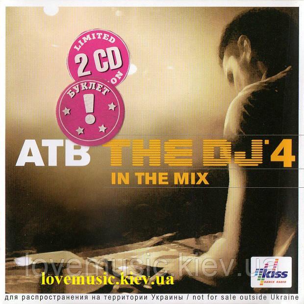 Музичний сд диск ATB The DJ'4 in the remix (2008) (audio cd)
