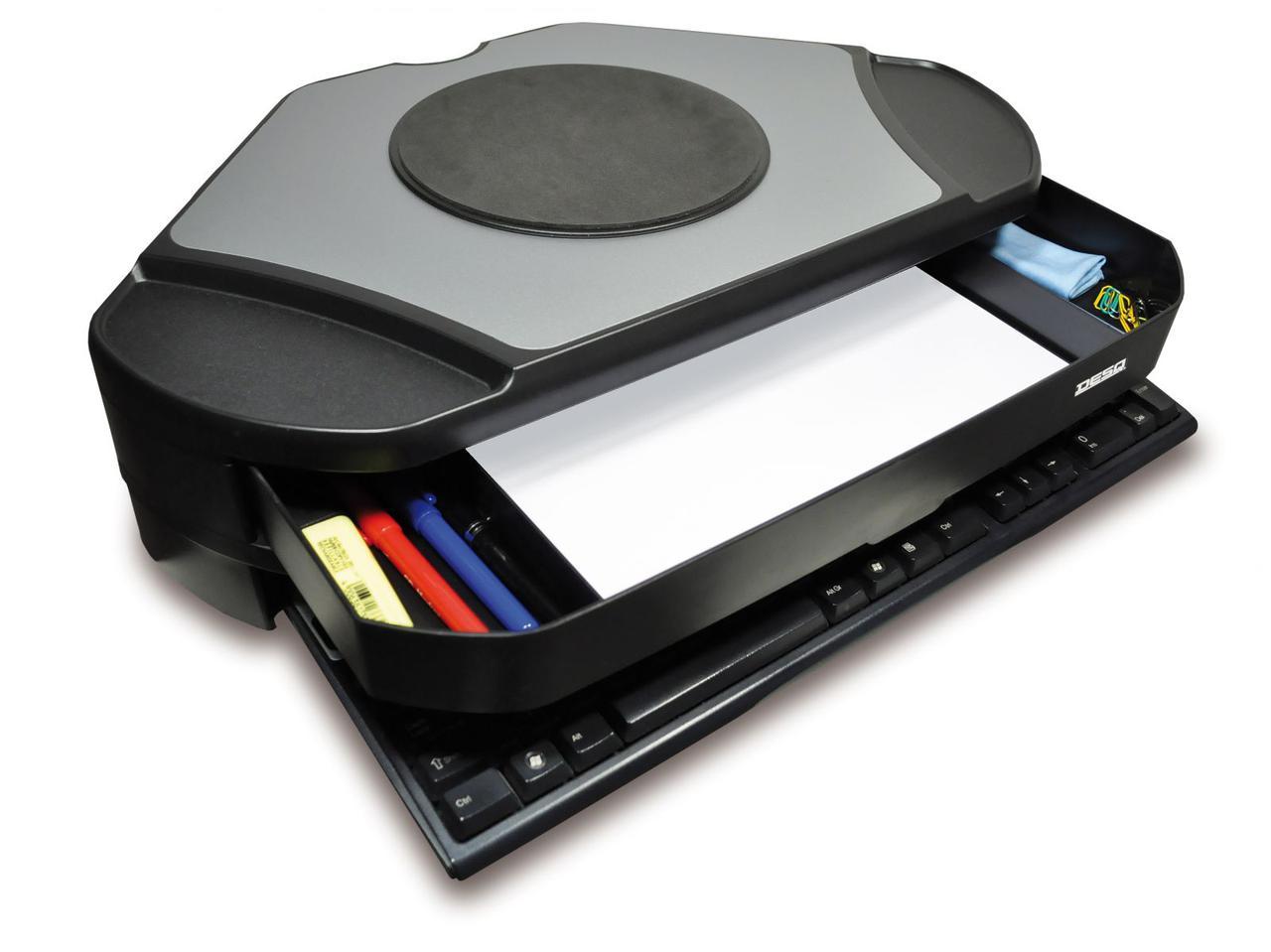 DesQ 1532 - угловая подставка под монитор с вращающимся диском