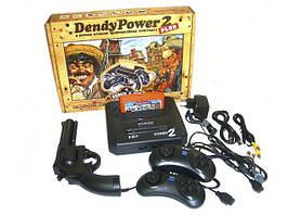 Телевизионная, игровая приставка, денди, Dendy, power 2, с картриджем, пистолетом