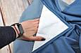 Накидка для кормления + сумочка-чехол, Джинс, фото 4