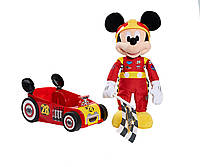 Just Play Гонщик Микки Маус около 30 см Mickey The Roadster Racers Racing Plush