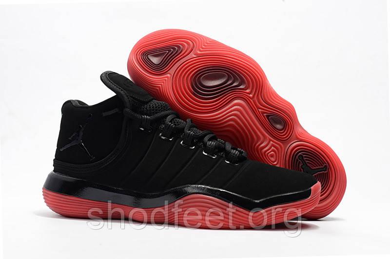 Баскетбольные кроссовки Jordan Super.Fly 2017 Black Red