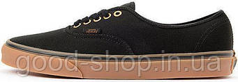 Мужские кеды Vans AUTHENTIC Black/Brown