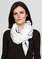 Платок женский Maison Scotch цвет бело-синий размер Универсальный арт 1526-06.70653