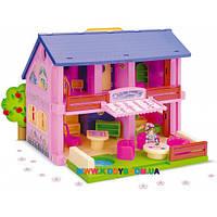 Домик для кукол Wader 25400