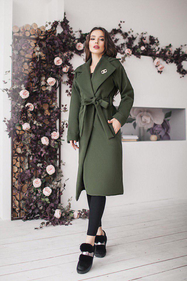 041b0b6fbef Красивое пальто с кашемира ниже колен - Beatrissa-shop - интернет-магазин  оптом от