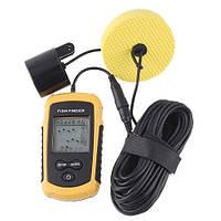 Профессиональный и компактный эхолот сонар радар fish finder