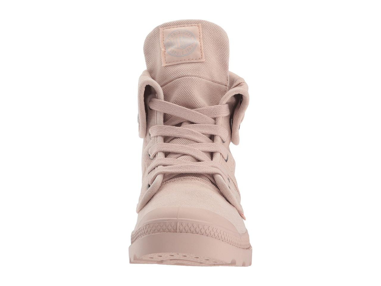 Кроссовки Кеды (Оригинал) Palladium Pallabrouse Baggy Rose Dust Silver  Birch b0ee874398dca