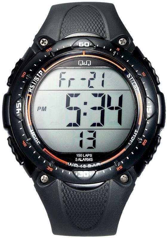a88fa1f7 Наручные мужские часы Q&Q M010J001Y оригинал: купить по низкой цене ...