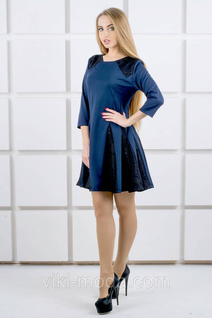 Платье женское Хэлли (синий)