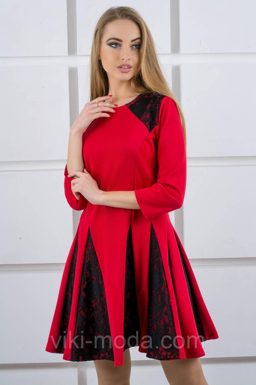 Платье женское Хэлли (красный)