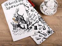 Набор кухонных полотенец 2 шт Alice in Wonderland V&A Creative Tops VA5200026