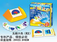Игра настольная Colorful геометрические пазлы SPL307238