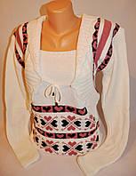 Кофточка белого цвета турецкая, фото 1