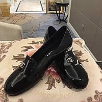 Лакированные туфли Chanel