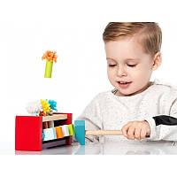 Клоуны – стучалка Cubika веселая детская игра, которая вызовет любопытство у каждого малыша