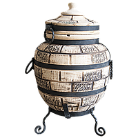 Тандыр 50 литров Кирпич+подарок 6шт шампур