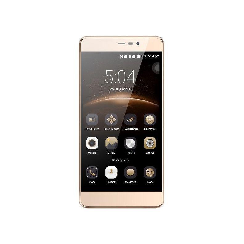 """Смартфон с мощным аккумулятором на 2 сим карты 5,5"""" 1/8Gb ERGO A553 POWER золотой"""