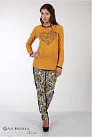 Стильные брюки для беременных Pretty flower, фото 1