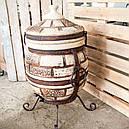 Тандыр Кирпич 50 литров + подарок Набор шампуров 6 шт. , фото 2