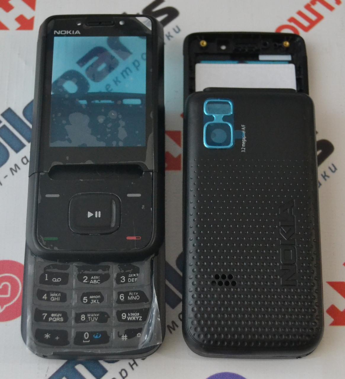 441ddaec5cfc Корпус для Телефона Nokia 5610 XpressMusic в Сборе (Качество ААА) (Черный)  Распродажа! — в Категории