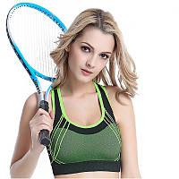 Топ спортивный женский зеленый, фото 1