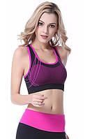 Топ спортивный женский розовый