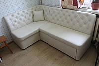 Кухонный уголок с мягкими сидениями (Жемчужный), фото 1