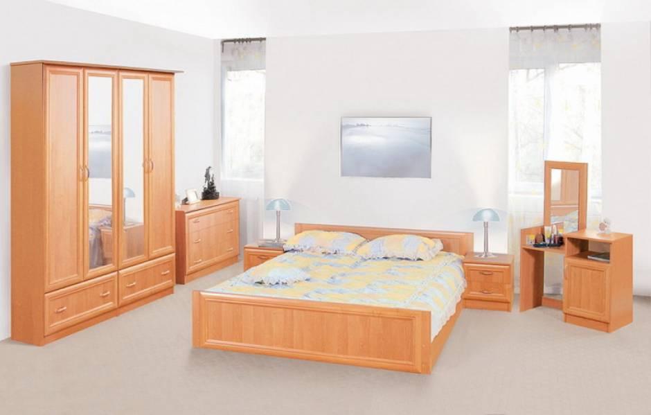 Спальня комплект з ДСП/МДФ Соня Світ Меблів