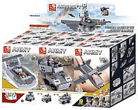 "Конструктор SLUBAN ""Авианосец 9в1"" M38-B0537, фото 1"