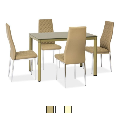 Стеклянный стол Galant 110x70 (Signal)