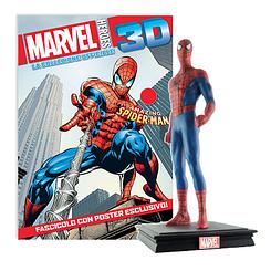 Миниатюрная фигура Герои Marvel 3D №01 Человек-паук (Centauria) масштаб 1:16