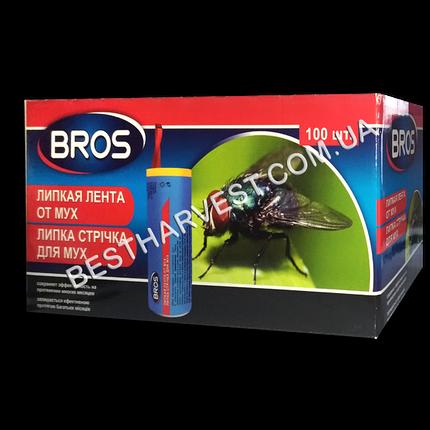 Липкая лента от мух «Брос» (Bros) круглая, оригинал, фото 2