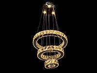 Хрустальная светодиодная люстра подвесная 8016-40*30*150