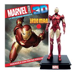 Миниатюрная фигура Герои Marvel 3D №02 Железный человек (Centauria) масштаб 1:16