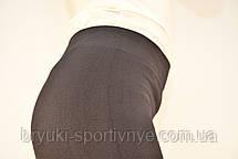Лосины женские бесшовные трикотажные Kenalin в черном цвете, фото 3