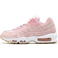 Кроссовки женские Nike Air Max 95 (розовые-белые) Top replic 5dd37f0f80068