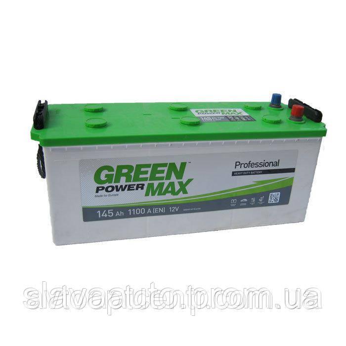 АКБ 145 Ah/12V GREEN POWER MAX 1100EN (E)